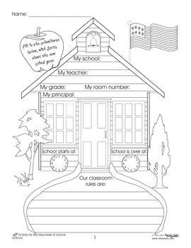 House Of Fun Freebies 2 : house, freebies, September, Freebies.., Thematic, Booklet, Teaching, Schools,, Kindergarten,, School