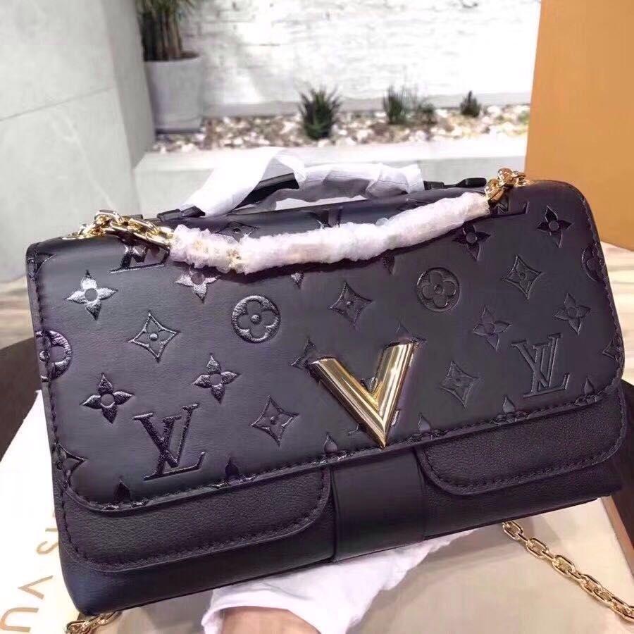 Louis Vuitton Very Chain Bag Black M42899  fb4181ad730bf