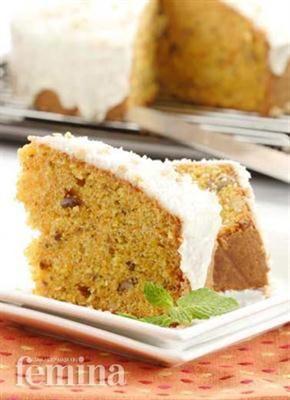 Real American Carrot Cake Kue Makanan Kue Wortel