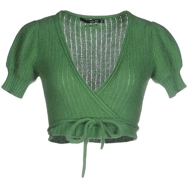 Liu •jo Cardigan (€115) ❤ liked on Polyvore featuring tops ...