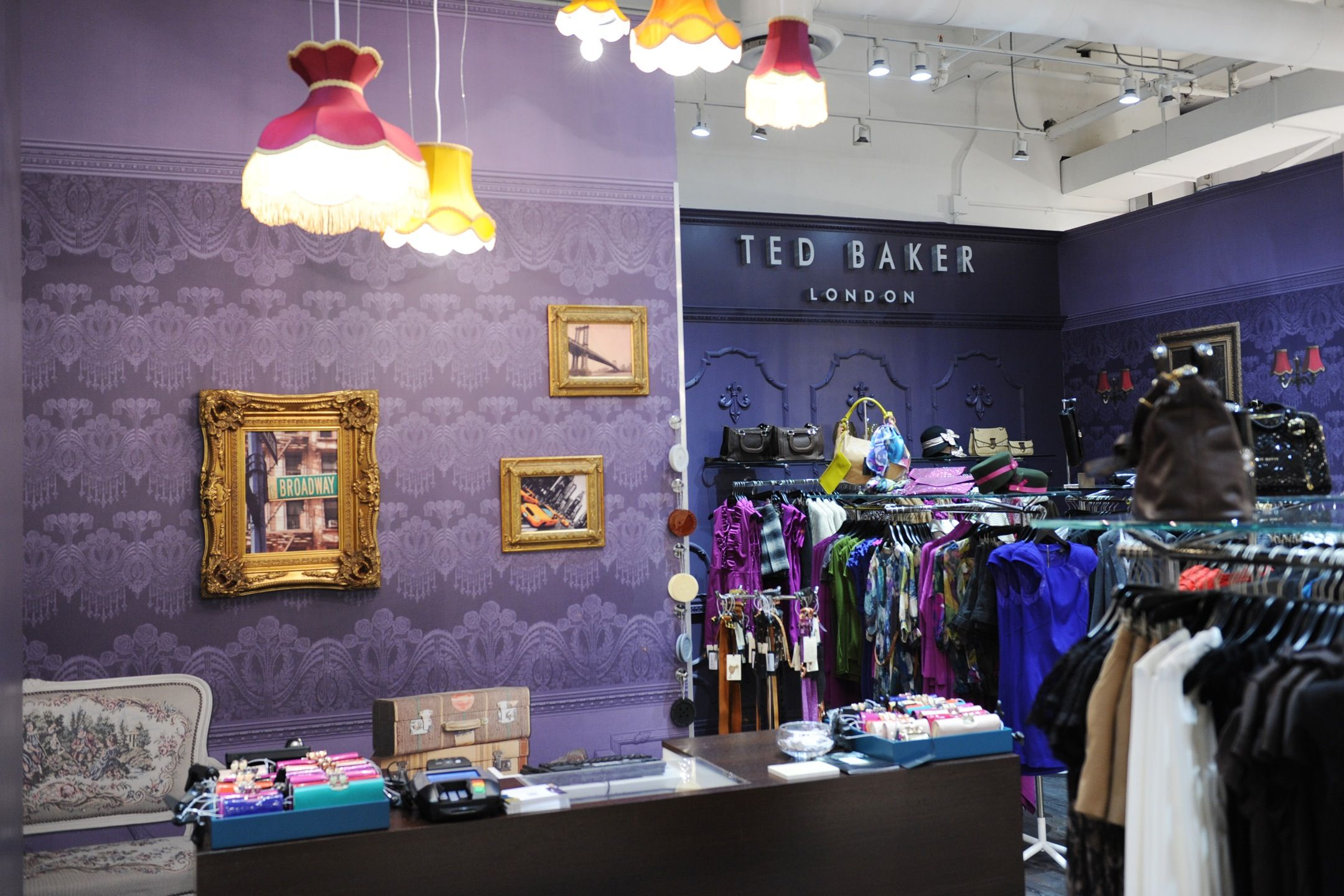 d185368a4 Loved the design of the Ted Baker Store in Bloomingdales in NYC