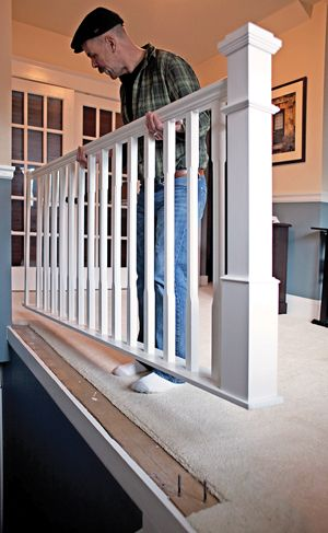Stair Railing Ideas Diy Banisters