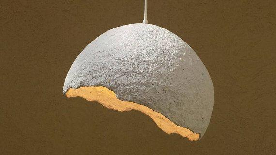 8 Papier Mache Lampshade Ideas, Paper Mache Lamp