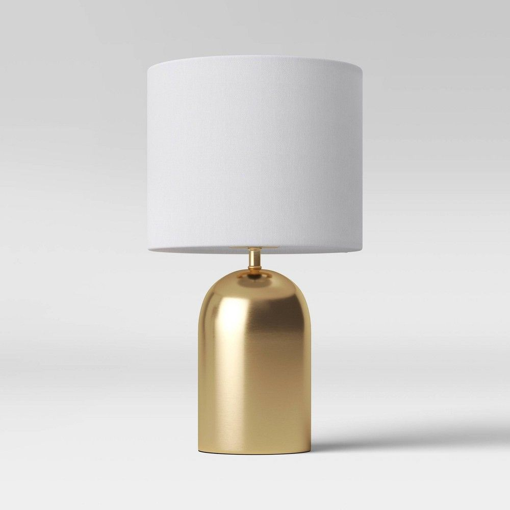 Dome Collection Led Accent Lamp Gold Includes Energy Efficient Light Bulb Project 62 In 2020 Accent Lamp Energy Efficient Light Bulbs Gold Lamp