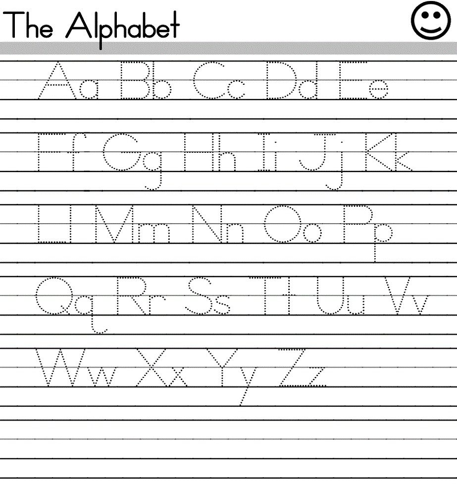 Worksheets Free Alphabet Worksheets For Preschoolers free alphabet worksheets trace abcs pinterest trace