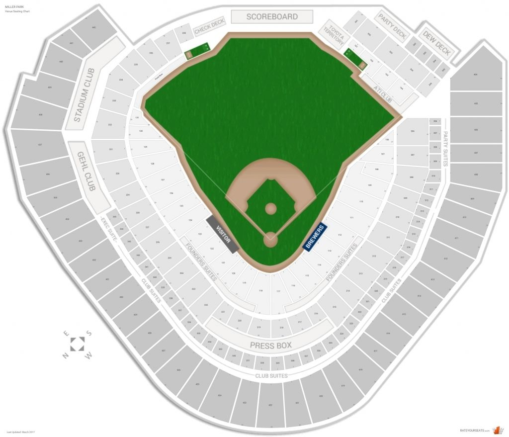 Park Seat Numbers Chart Images Online intended for Miller ...