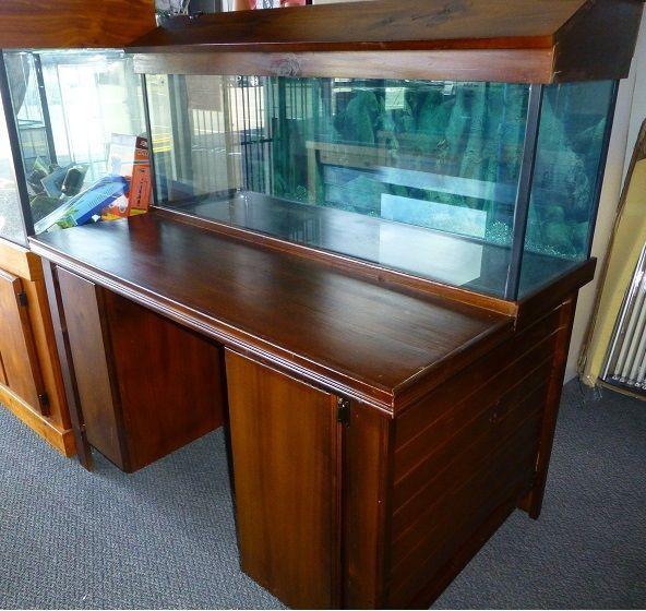 Wooden Fish Tank Desk