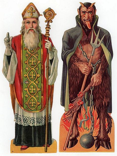 Image result for father nikolaus and devil