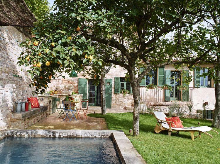 Casa Giardino Una Hermosa Casa En Italia Casa Haus Casas De Piedra Viejas Exterior Rústico Casa De Piedra
