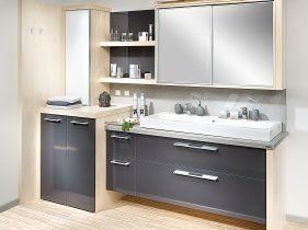 Einzelbad mit waschmaschinenverbau bathrooms
