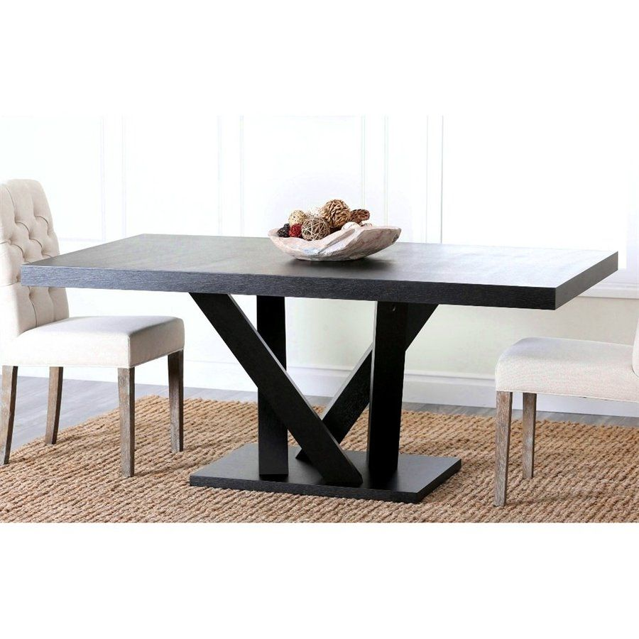 Pacific Loft Celestia Wood Dining Table Dining Table Dining Table In Kitchen Rectangular Dining Table