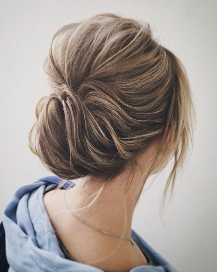 Easy And Pretty Chignon Buns Hairstyles Youll Love To Try Hair