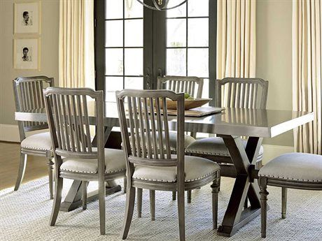Universal Furniture Berkeley 3 80 L X 40 W Rectangular Stainless