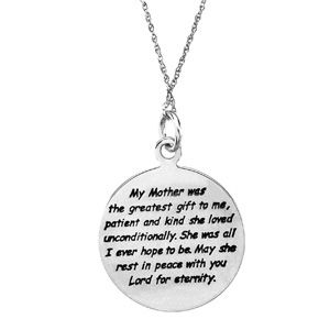 11+ Sympathy jewelry for loss of mother viral