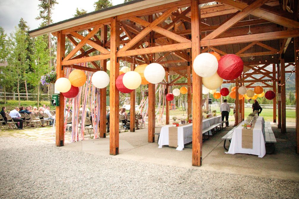 Sunny And Ryanu0027s Wedding / Carter Park Pavilion In Breckenridge Colorado /  Stephanie Alley Photography /