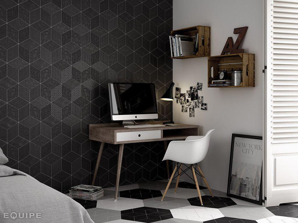 Angolo studio black and white arreda nel 2019 decorazioni casa