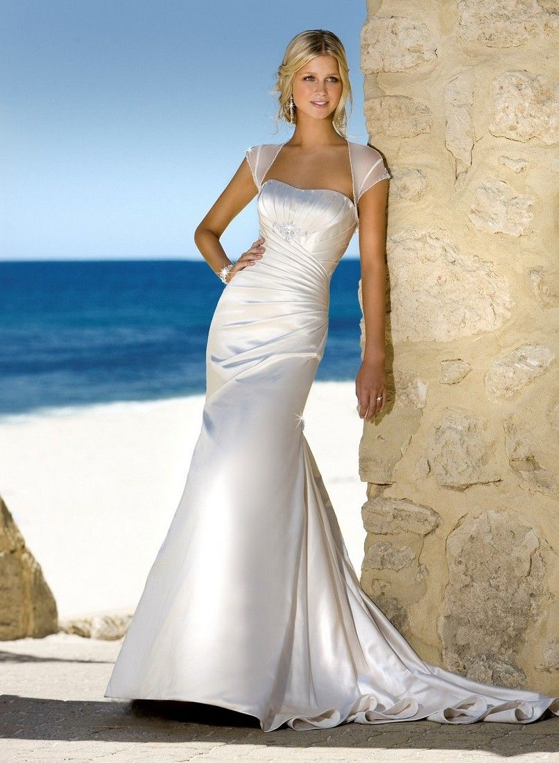 Beach wedding dresses are cool and swanky beach weddings handmade wedding dress be011 ombrellifo Gallery