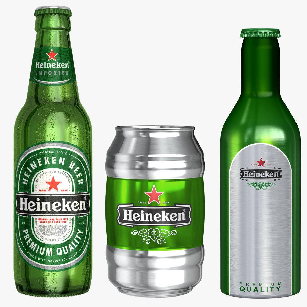 Http Www Turbosquid Com 3d Models C4d Heineken Bottle 800988 Heineken Bottle Heineken Bottle