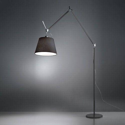 Tolomeo Mega Floor Lamp Black Floor Lamp Modern Floor Lamps Artemide Lighting