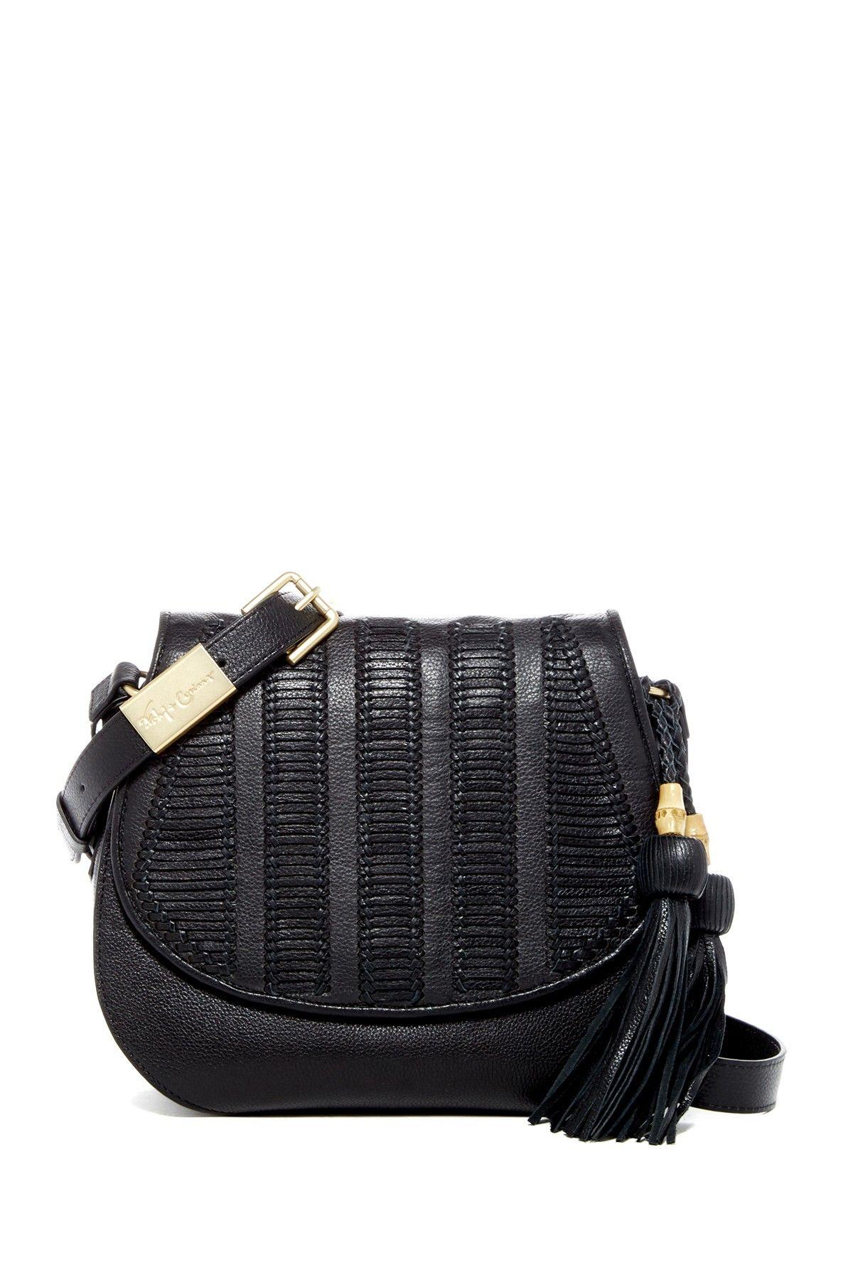 Charlotte Leather Saddle Bag