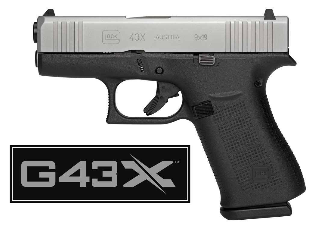 New Glock 43X Pistol | 2019 SHOT Show | Guns, Hand guns, Guns, ammo