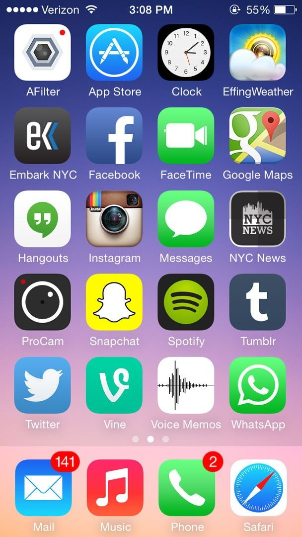 7 creative ways to organize your mobile apps Iphone, App