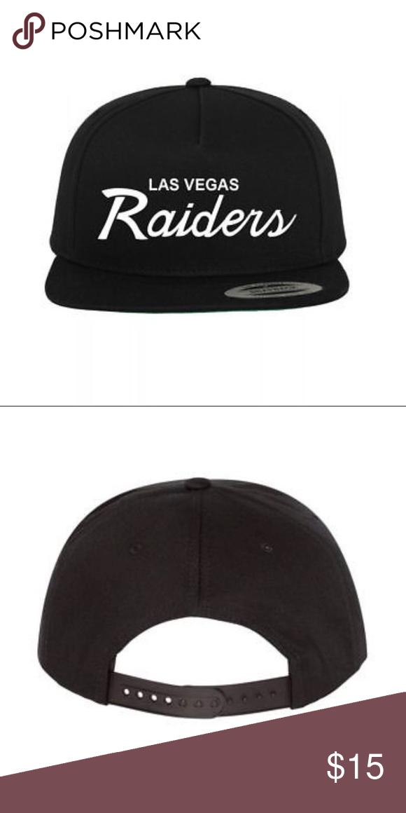 07b75326c NEW Las Vegas Raiders NFL Football SnapBack Hat Brand new