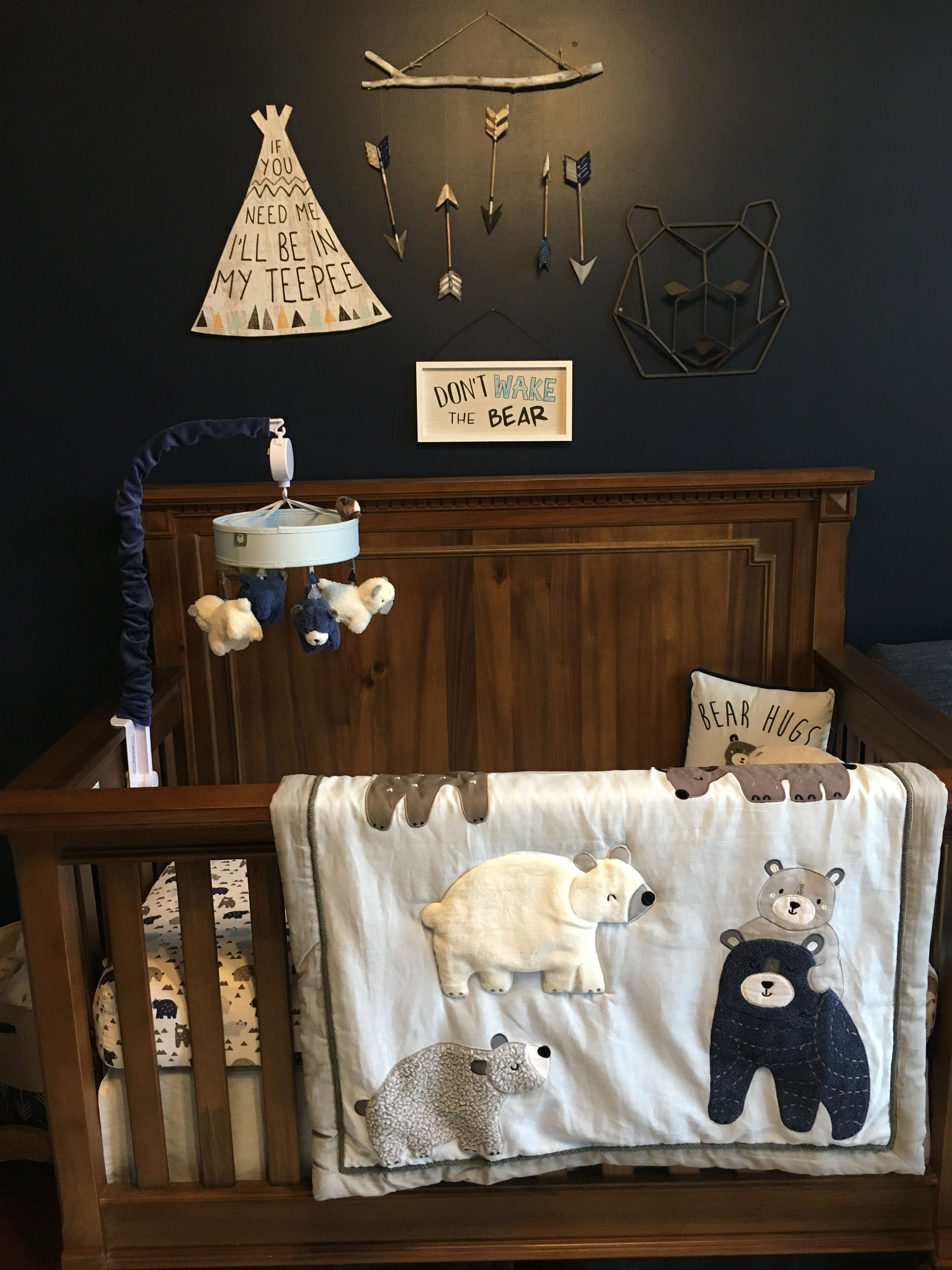 Crib Bedding Baby Boy Rooms: Bertini Becker Crib, Bedding Set, Mobile, & Pillow From