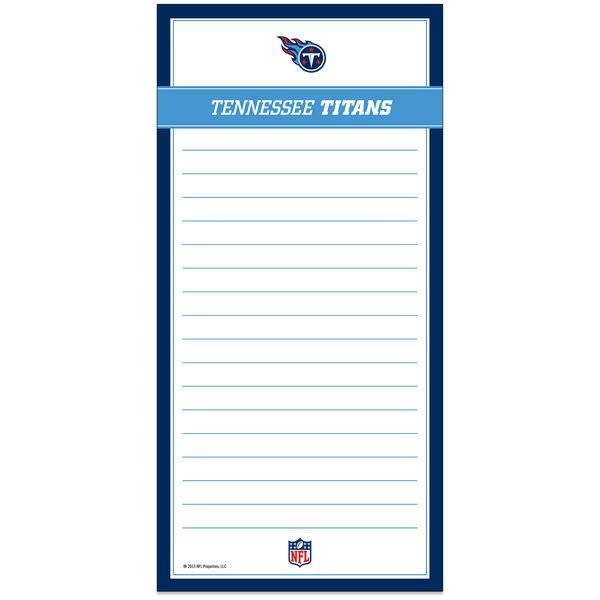 Tennessee Titans Magnetic List Pad - - $3.99