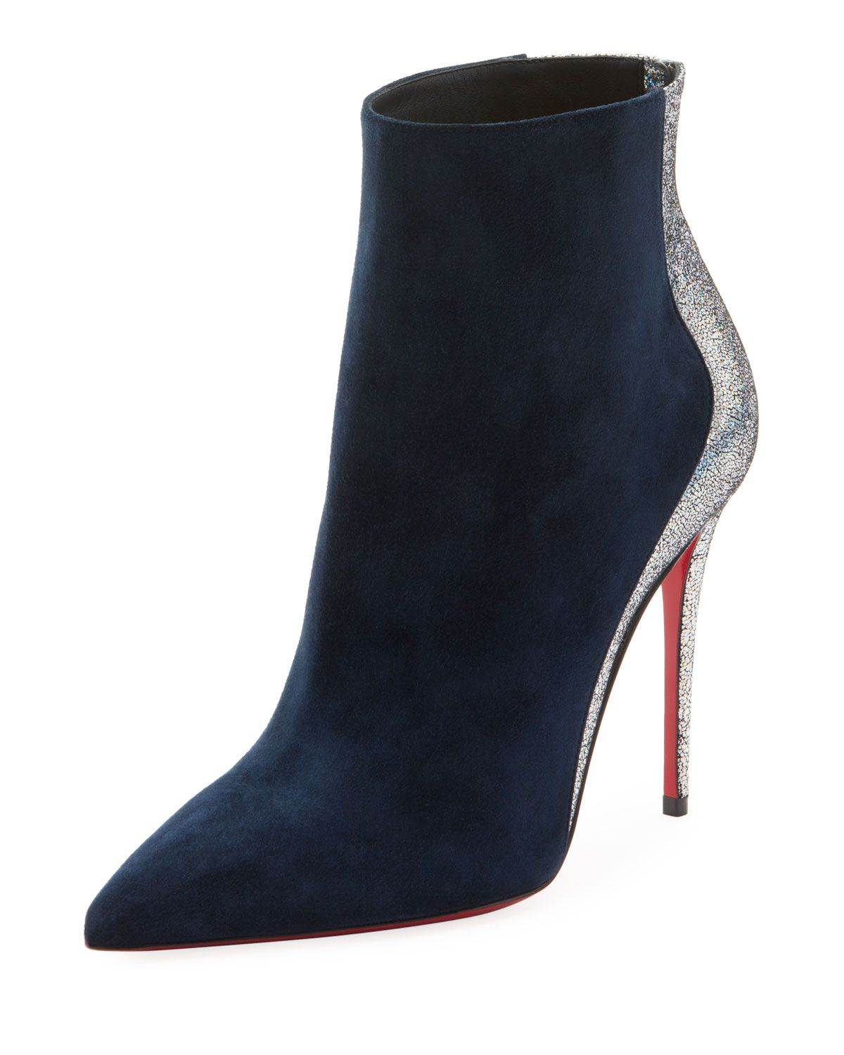 24dd1f752bd Delicotte Suede Red Sole Booties | Christian Louboutin in 2019 ...