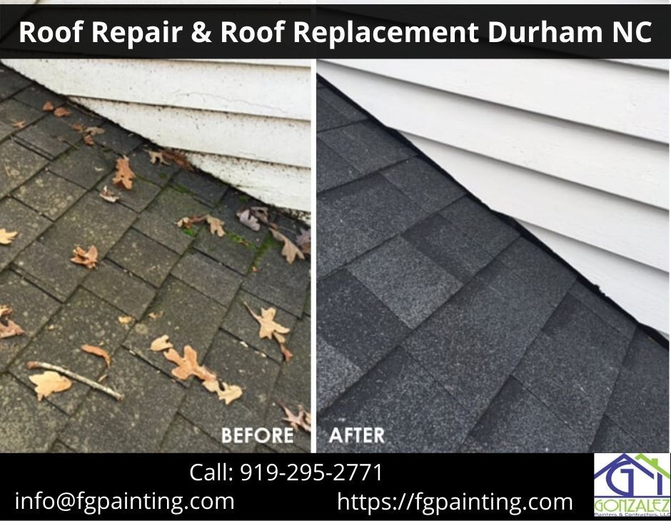 Roof Repair Roof Replacement Durham Nc In 2020 Roof Repair Residential Roofing Roof Installation