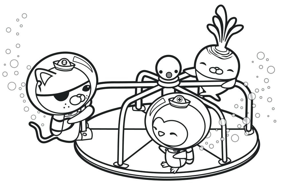 Free Printable Octonauts Coloring Pages For Kids Di 2020