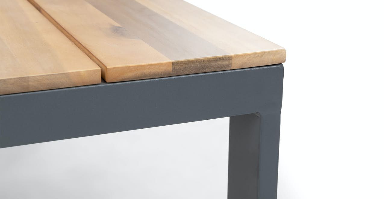 Acacia kezia wooden outdoor coffee table article in 2020