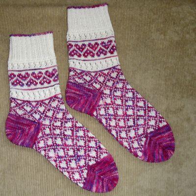 February Socks | Socks, Knit socks and Knitting socks