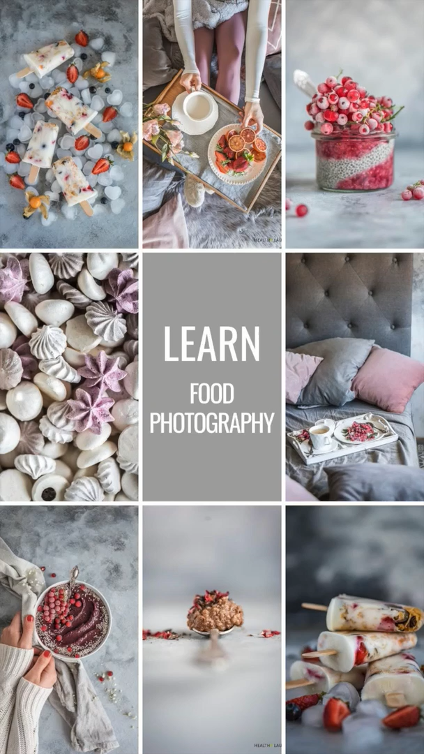 21-Day Food Photography Challenge: Food Composition & Food Styling by Healthy Laura Food Photography & Styling Laura Kuklase. @healthylauracom HealthyLaura food blogger tips & inspiration as food photographer & foodblogger. My  experience and tips for food styling as a food blogger. #foodphotographytips #foodstylingtips #photogaphyworkflow #foodphotography #foodstyling #foodblogging
