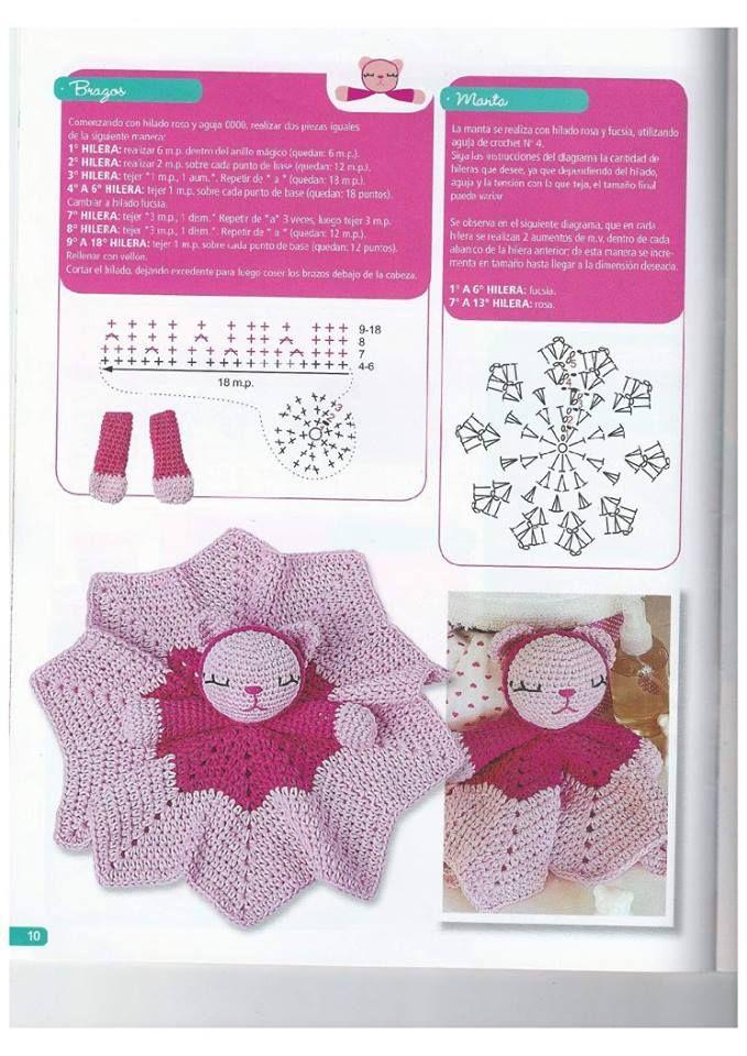 Pin de Dina Figueroa en a punto crochet | Pinterest | Bebe, Croché y ...