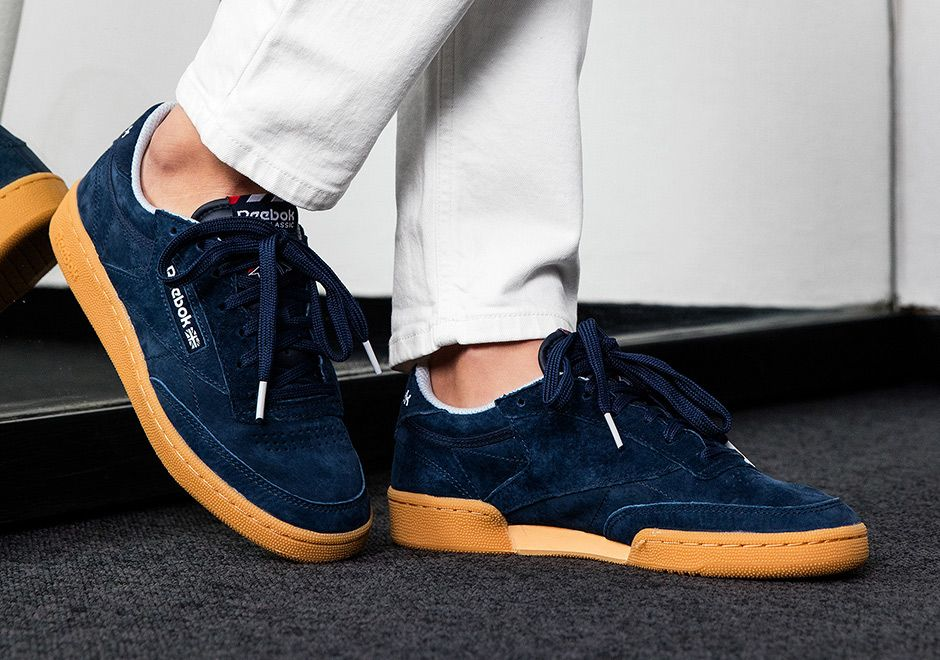 7968fd82921f  sneakers  news NAKED Offers Three Suede Options For The Reebok Club C  Indoor