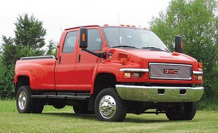 Chevy Topkick Truck Gmc C4500 By Monroe Equipment Mini Test Road