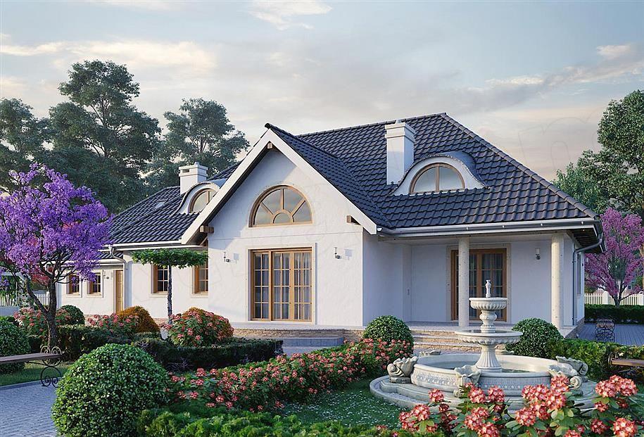 Zdjecie Projektu Anielski Dwor Murowana Beton Komorkowy Krd2032 House Styles Mansions House