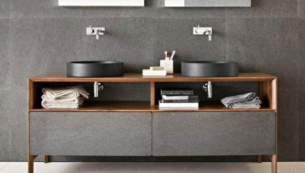 Badezimmer Waschtisch-Unterschrank waschtisch Pinterest - badezimmer doppelwaschbecken