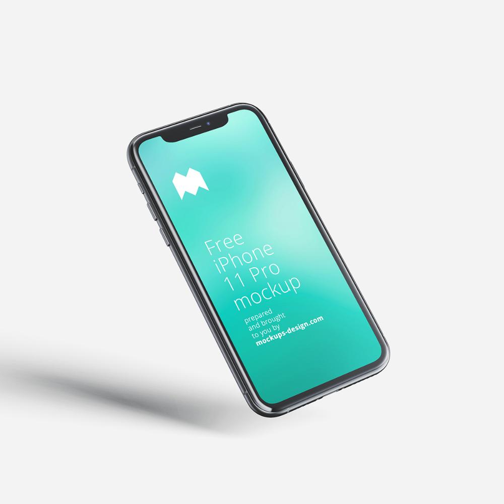 Download Free Iphone 11 Pro Mockup Mockups Design Free Premium Mockups Free Iphone Iphone Mockup