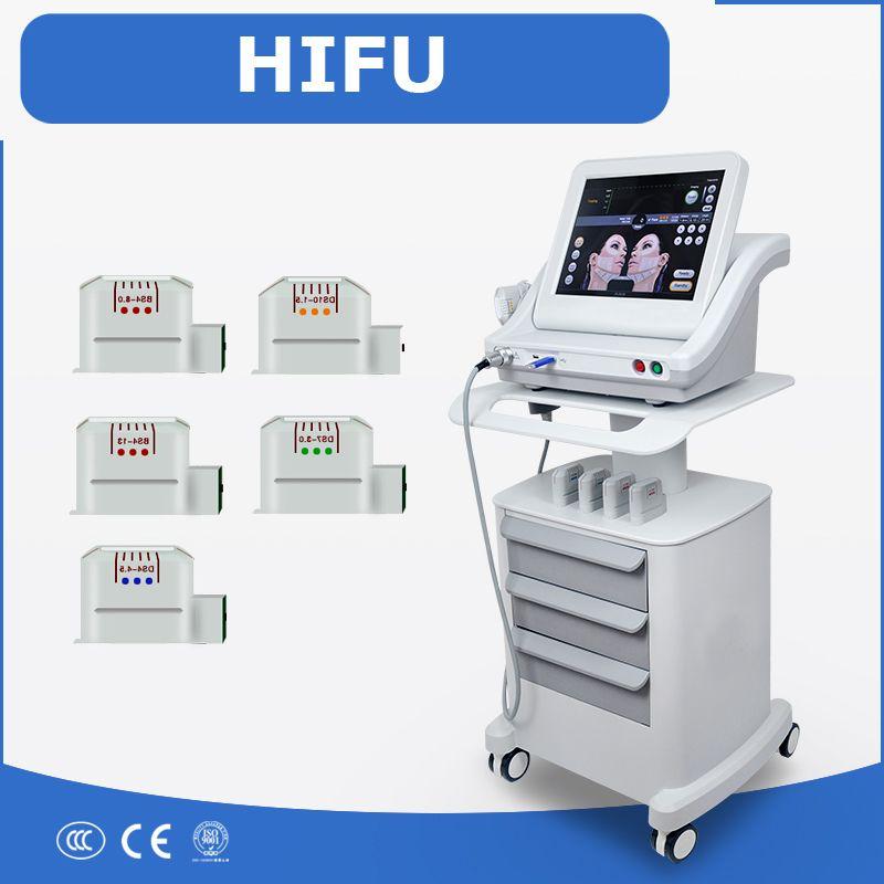 2017 portable High Intensity Focused Ultrasound HIFU face