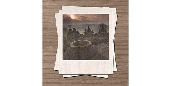 Membuat Efek Polaroid Dengan Photoshop Kolase Foto Photoshop Kolase