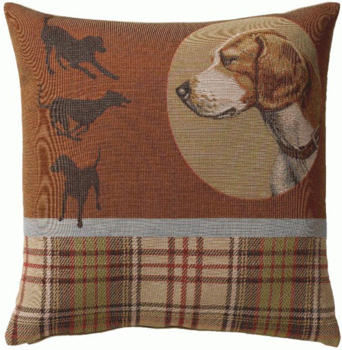 Scottish Dogs French Cushion