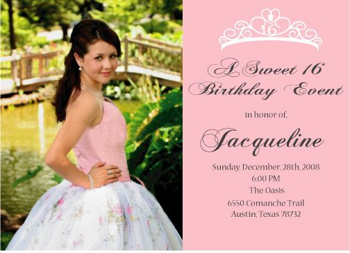 sweet 16 or quinceanera invitation via etsy quinceanera traditions