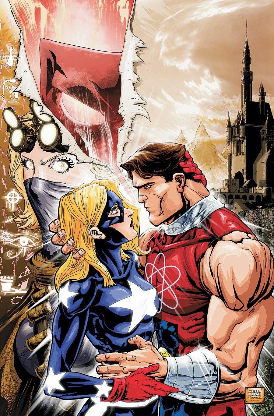 Resultado de imagem para atom smasher stargirl