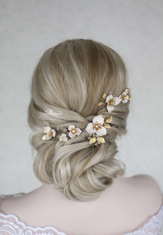 bridal hair pins, wedding hair pin set, wedding hair pins