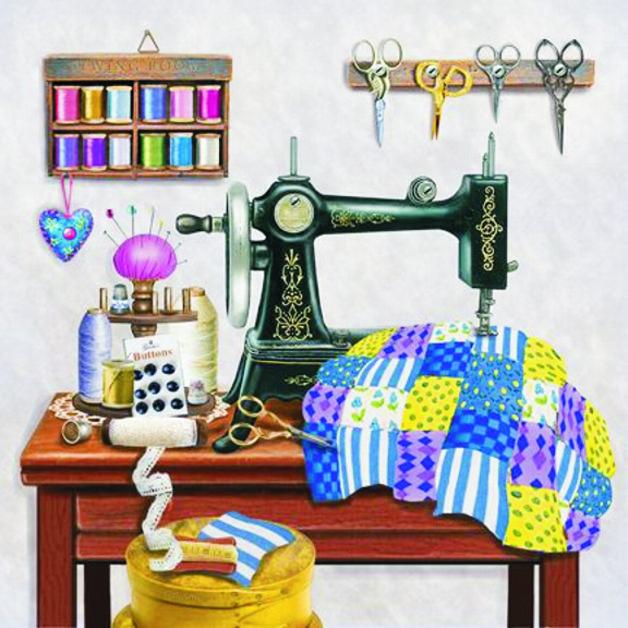 Днем памяти, прикольные картинки с швейной машинкой