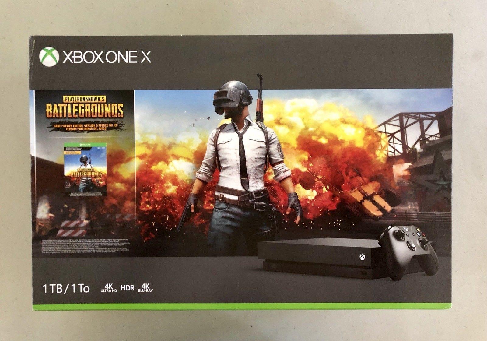 Microsoft Xbox One X 1TB Player Unknown Battlegrounds