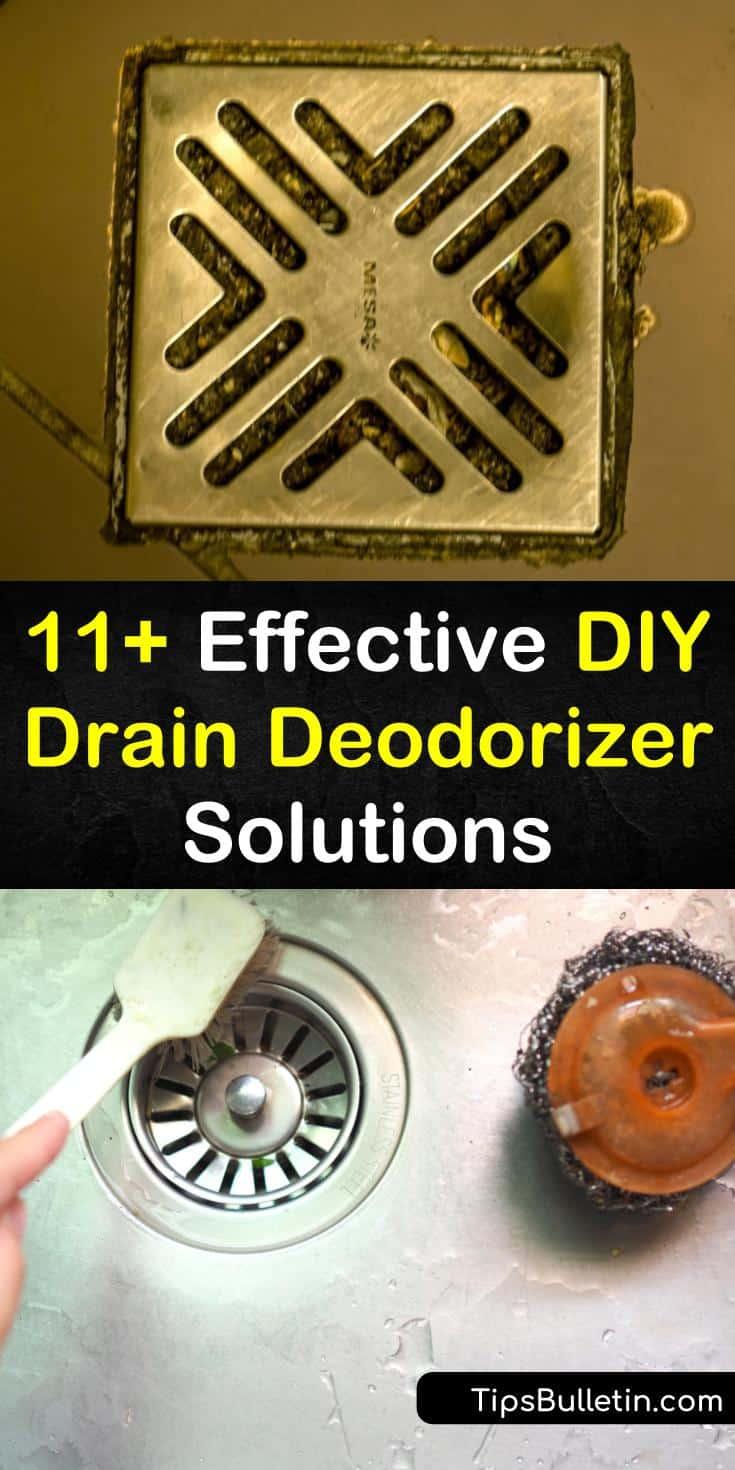 11+ Effective DIY Drain Deodorizer Solutions Homemade